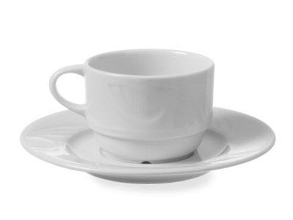 Hendi Dish - 149x19 mm - Karizma - For head 170/230 ml porcelain