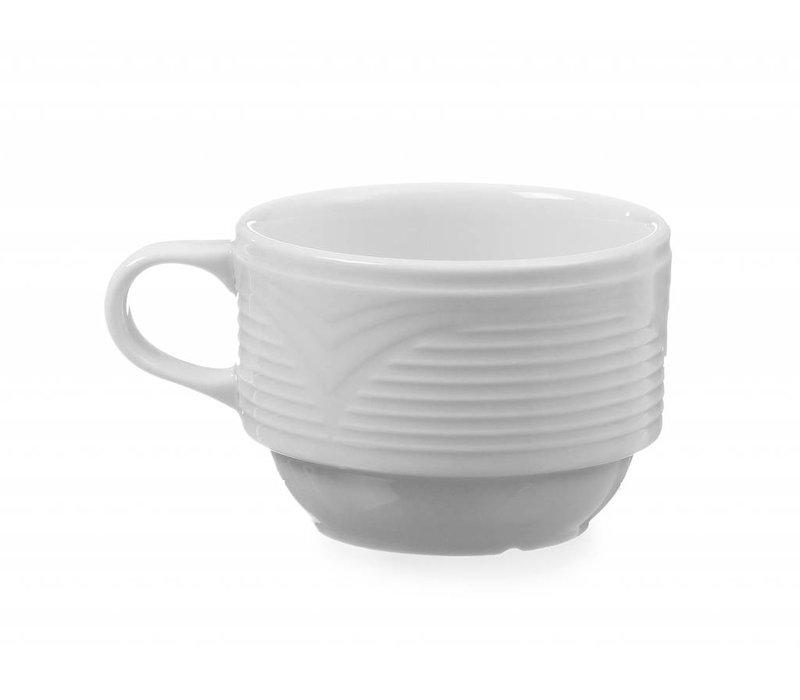 Hendi Coffee cup - 170 ml - Saturn - Weiß - Porzellan