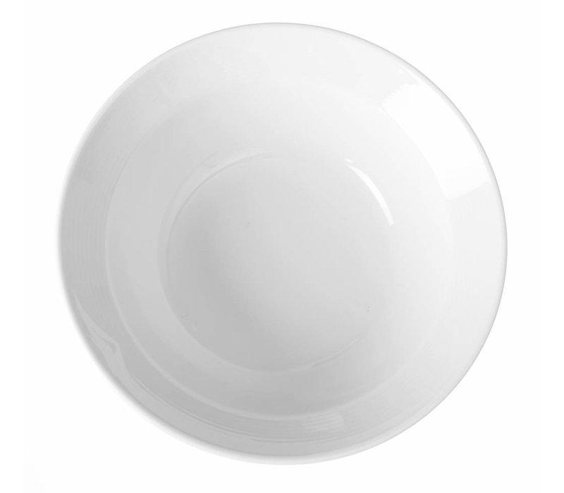 Hendi Salatschüssel - 150x45 mm - Saturn - Weiß - Porzellan