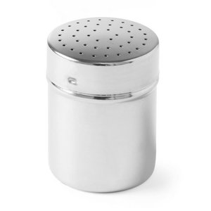Hendi Stainless steel shaker | PeperZoutstrooier | Ø55x (H) 75mm