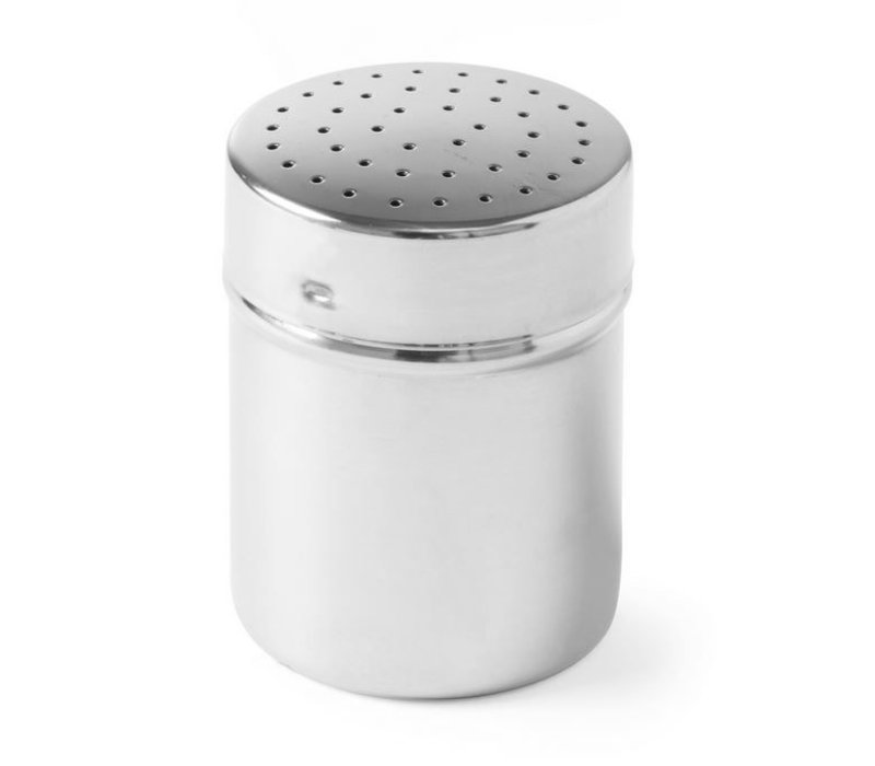 Hendi Stainless steel shaker | PeperZoutstrooier | Ø55x (H) 75mm