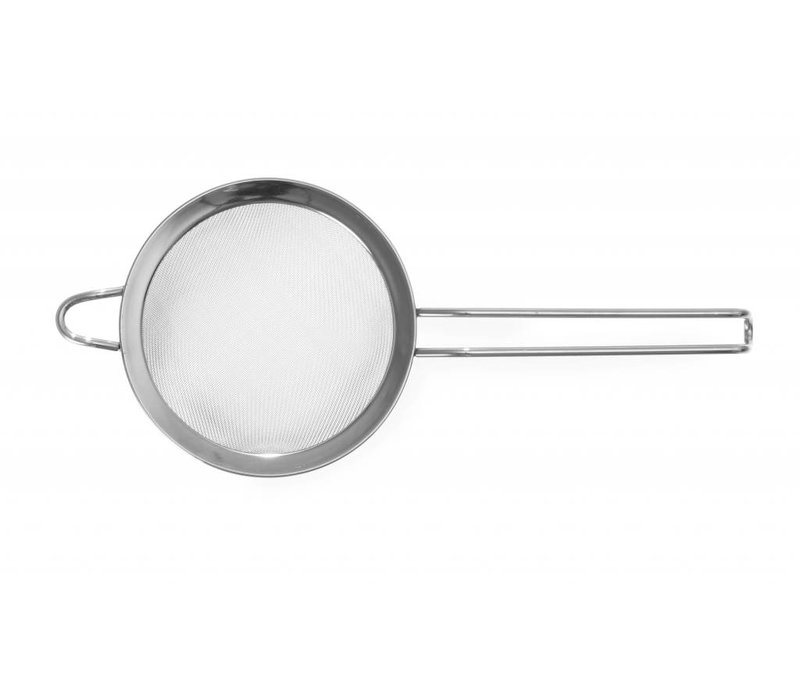 Hendi Bolzeef stainless steel 200x400 mm - fine mesh with wire handle