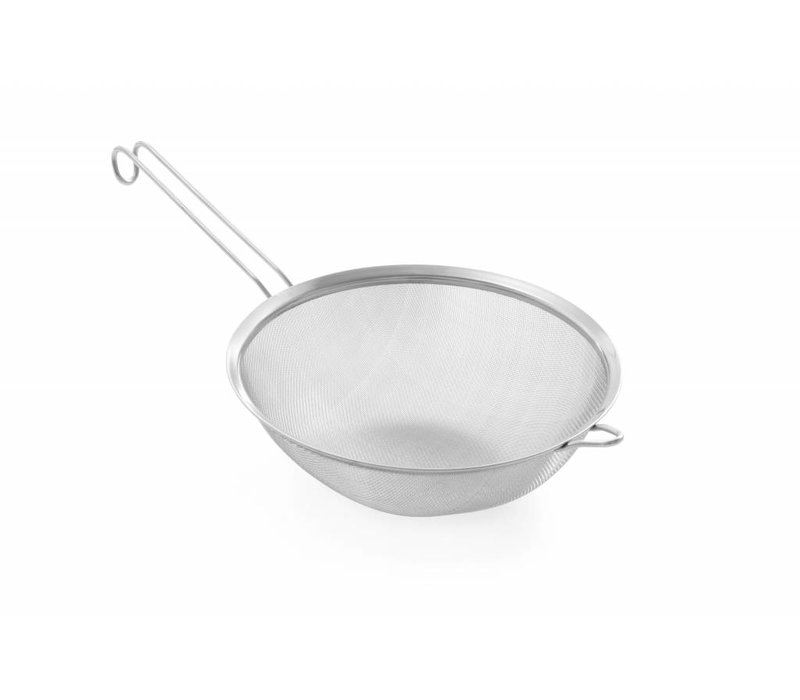 Hendi Bolzeef stainless steel 240x475 mm - fine mesh with wire handle