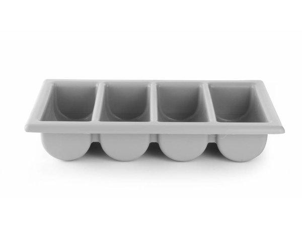 Hendi Cutlery - 4 Vaks - Grey - GN 1/1 - 100 mm