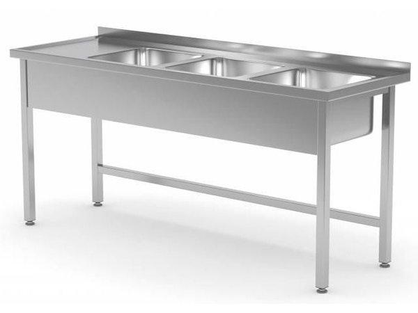 XXLselect Spülen Spülen mit 3 Tailor - Jede Größe Sink / VA-Spülbecken in jeder Größe
