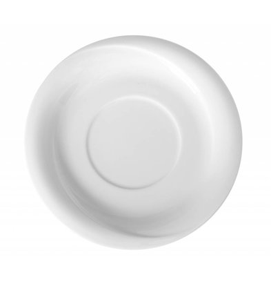 Hendi Dish - 190x20 mm - Exclusiv - For soup bowl - White - Porcelain
