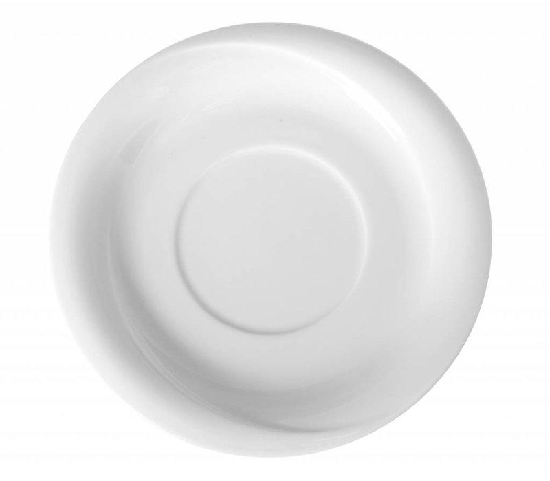 Hendi Schotel - 190x20 mm - Exclusiv - Voor soepkom - Wit - Porselein