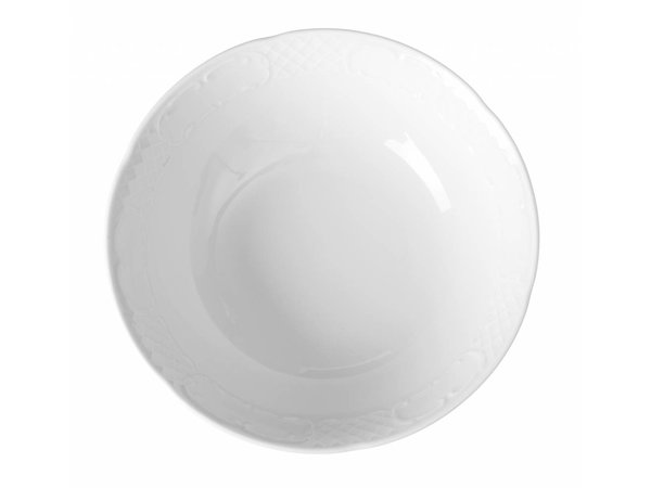 Hendi Scale - 230x65 mm - Flora - White - Porcelain