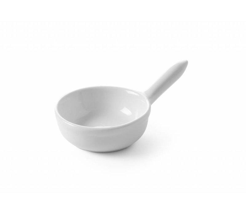 Hendi Tapas Bowl Cacerole set 6 - 60x25 mm - Weiß - Porzellan