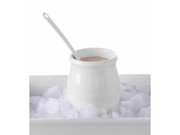 Hendi Dressingpot 1000 ml - Weiß - Porzellan