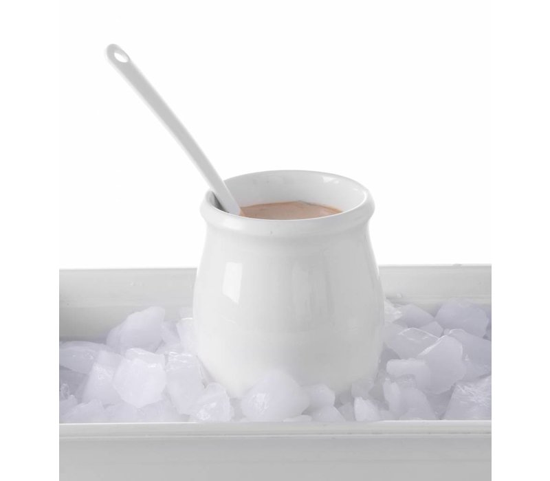 Hendi Dressingpot 1800 ml - weißes Porzellan