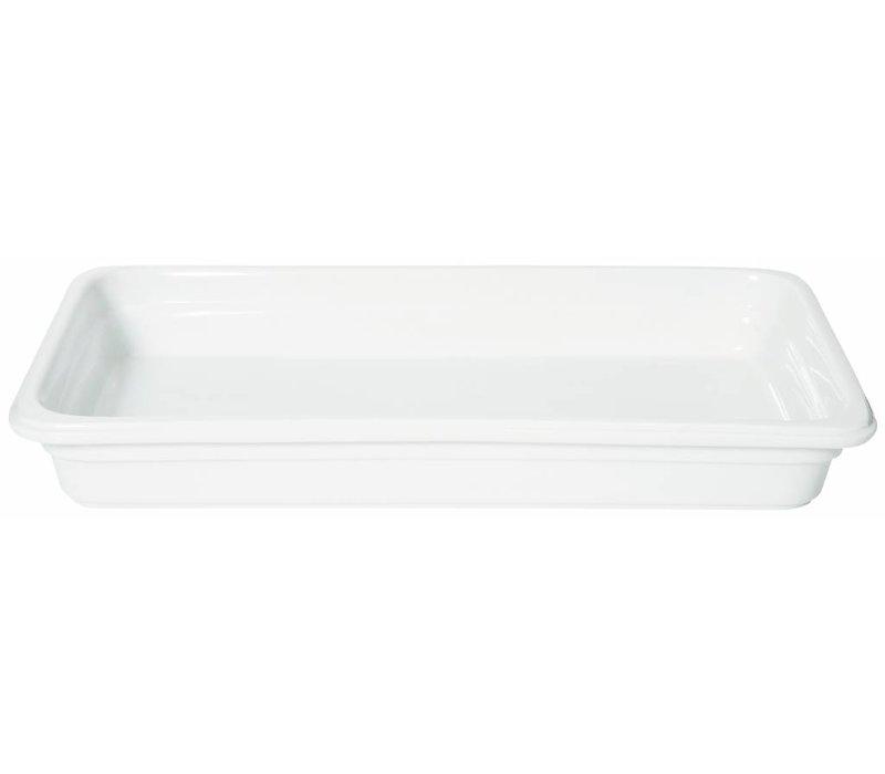 Hendi Gastronormbak 1/1 - 65 mm - Porselein