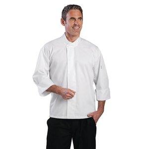 XXLselect Koksjas Orlando - Long Sleeves - Available in 6 sizes - Unisex - White