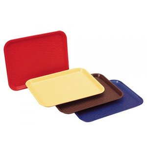 XXLselect FAST FOOD Trays | Polypropylene + stackable | 530x325mm | CHOOSE FROM 4 COLORS