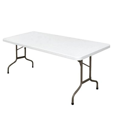 Bolero Terrace Folding table with folding legs - 74 (h) x182 (b) cm