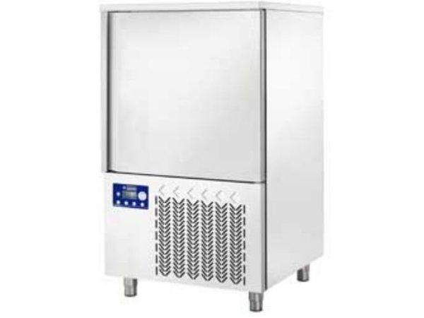 Diamond Blast Chiller/ Snelvriezer/ Snelkoeler - 10 x 1/1 GN - Touchscreen - 810x830xh1370mm