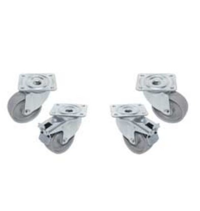 Diamond Set of 4 castors - two with brake