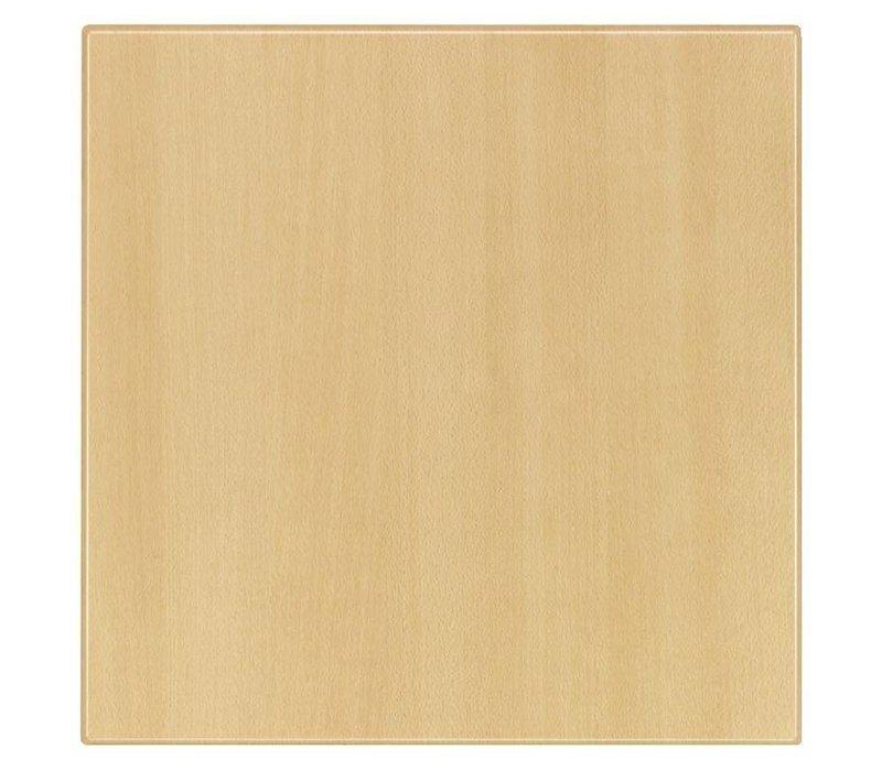 Bolero Werzalit beuken tafelblad, rond 60cm