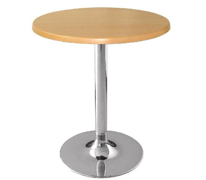 Bolero Werzalit beech table top, round 60cm