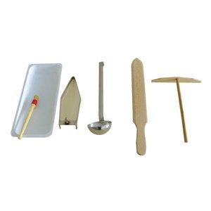 XXLselect Crepe Accessories Set - Krampouz