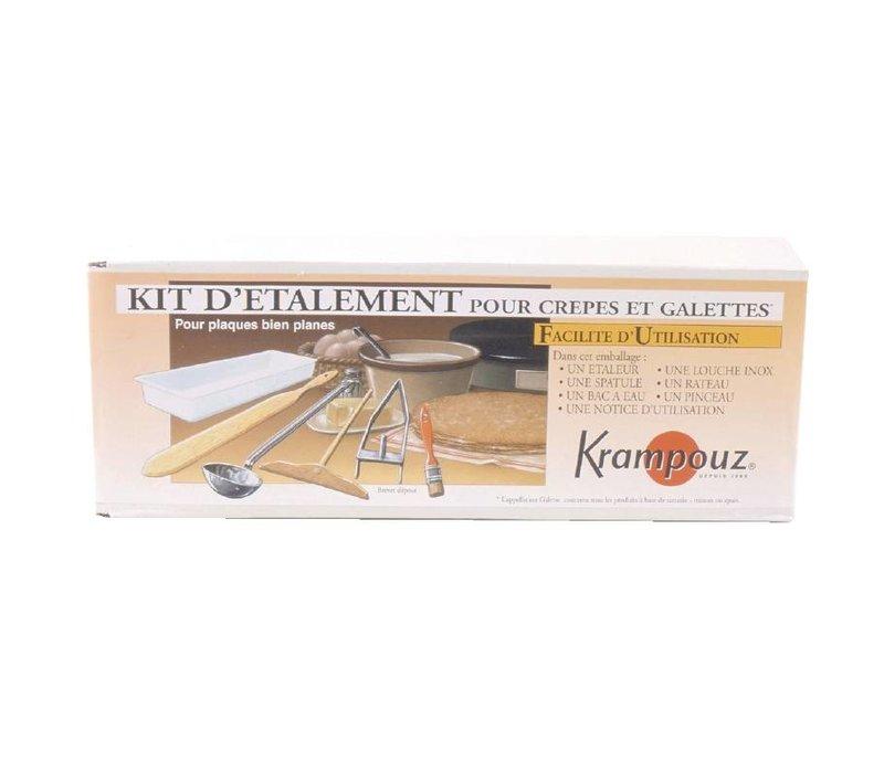 XXLselect Crepe Accessoires Set - Krampouz