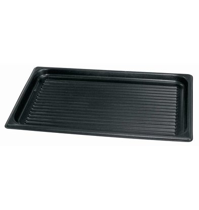 XXLselect Ribbed aluminum baking tray | Nonstick Special | 1 / 1GN | 530x325x30mm