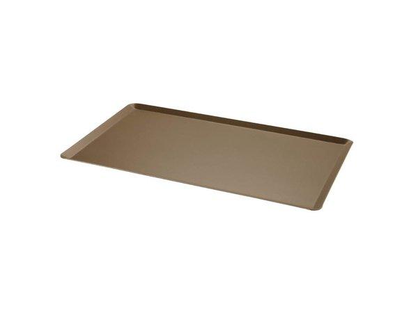 XXLselect Bakplaat Aluminium | Anti-Aanbak | Schuine Rand | 1/1GN | 530x325mm