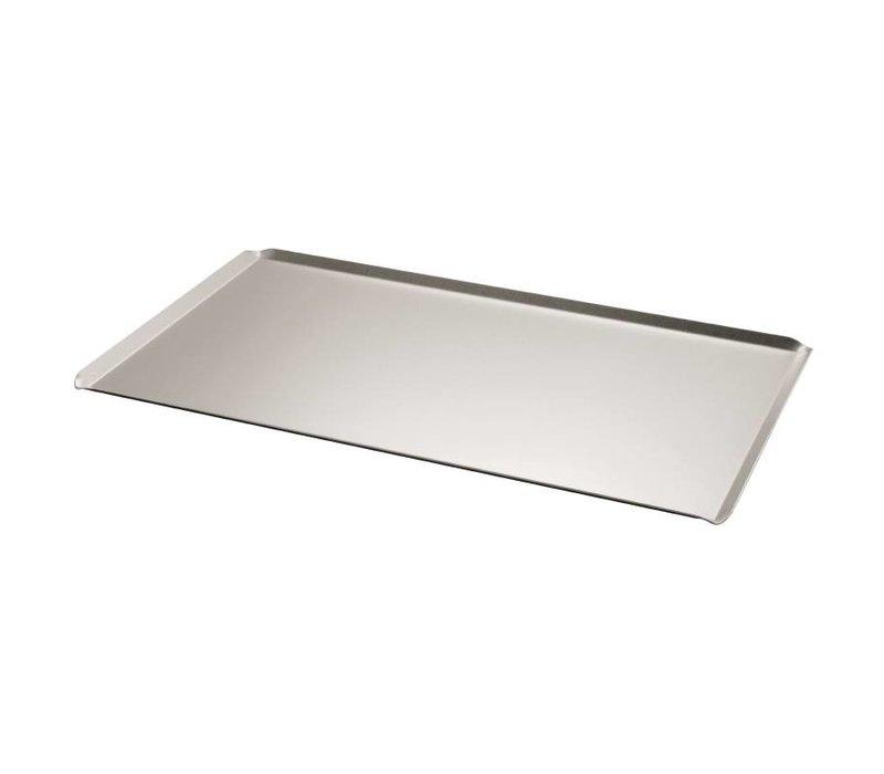 XXLselect Backblech Aluminium | Abgeschrägten Rand | Patisserie | 600x400mm