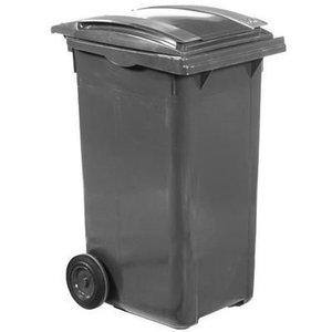 XXLselect Abfallbehälter Felgen- 240 Liter Grau