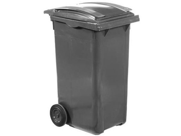 XXLselect Waste container Wheels- 240 Liter Gray