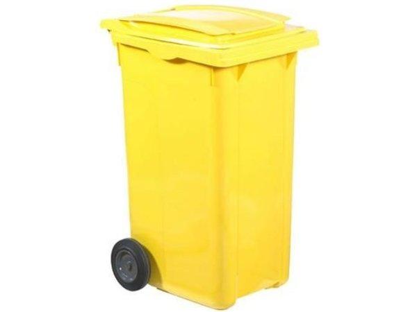 XXLselect Abfallbehälter Felgen- 240 Liter - Erhältlich in 4 Farben