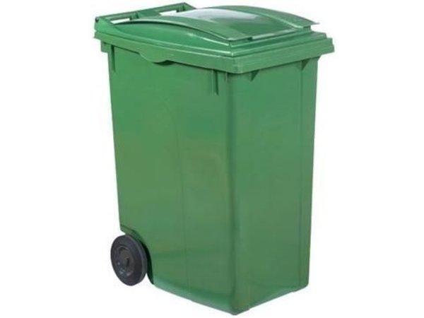 XXLselect Afvalcontainer op Wielen- 360 Liter Groen