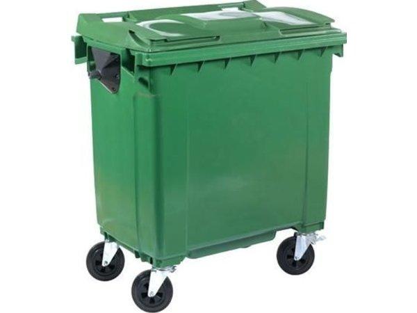 XXLselect Afvalcontainer / Maxi-Container op Wielen- 770 Liter Groen