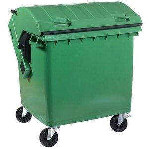 XXLselect Afvalcontainer / Maxi-Container op Wielen- 1100 Liter Beschikbaar in 2 Kleuren