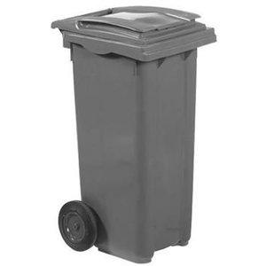 XXLselect Abfallbehälter Felgen- 120 Liter Grau
