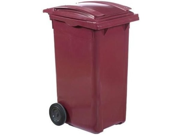 XXLselect Waste container Wheels- 120 Liter - Available in 4 colors