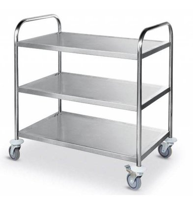 Hendi Serving trolley - three-layer - 900x590x (h) 930mm - 225kg - XXL OFFER!