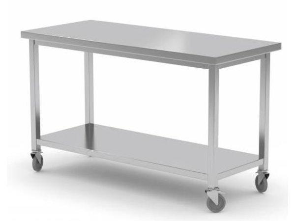 XXLselect Stainless steel workbench / Cupboard on Wheels   CUSTOM   Each size Possibility