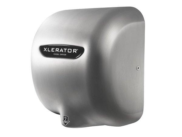 Xlerator XLerator Händetrockner aus Edelstahl   Sehr kraftvoll   10 sec   1400W   Edelstahl gebürstet