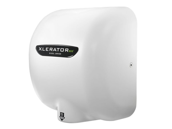Xlerator Xlerator Handdroger Eco   Energie-Efficënt   12 sec   Wit   500W   Milieuvriendelijk