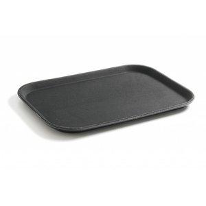 Hendi Tray Black | HEAVY DUTY Polypropylene | Break-resistant + Non-slip coating | 255x355 mm