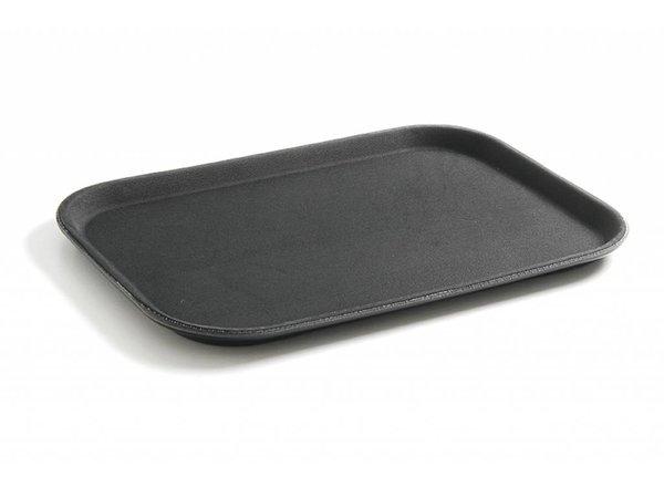Hendi Tray Black   HEAVY DUTY Polypropylene   Break-resistant + Non-slip coating   255x355 mm