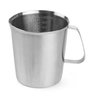 Hendi Measuring cup / Jug of stainless steel - Ø120x135 mm - 1 Litre