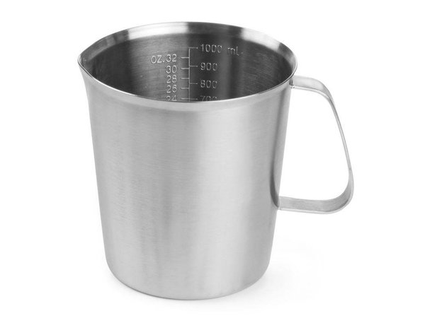 Hendi Measuring cup / Jug of stainless steel - Ø120x135 mm - 1 Litre