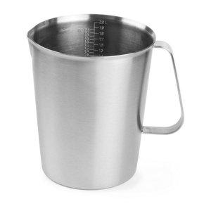 Hendi Measuring cup / Jug of stainless steel - Ø145x175 mm - 2 Liter