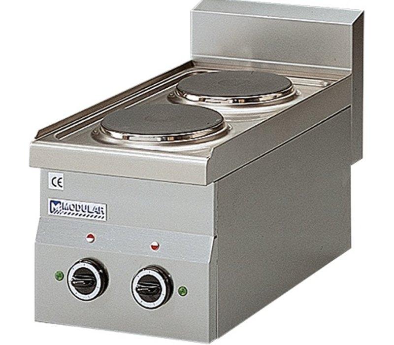 Modular 650 Modular stove - Electric - 2 Pits - 40x65x (h) 28cm - 4.8 kW - 400V