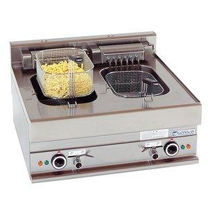 Modular Fryer 650 Modular - Leistung - 2 x 10 Liter - 70x65x (h) 28cm - 15 kW - 400 V