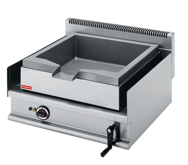 Modular Tilting Fryer Modular 650 - Electric - 30 Liter - 70x65x (h) 28cm - 6.3 kW - 400V