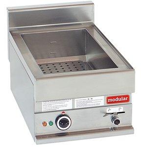 Modular Bain Marie 650 Modular | Electrical | 1/1 GN | 1,5 kW | 40x65x (H) 28cm