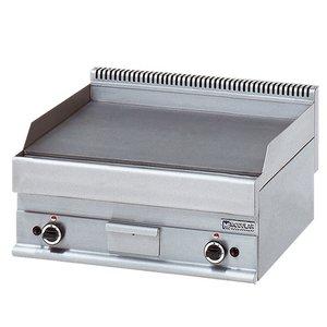 Modular 650 Modularer Grillplatte - Gas - Smooth - 70x65x (h) 28 cm - 11,4 kW